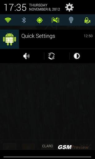 Контролен панел за Android