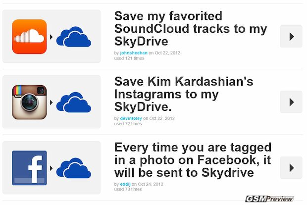 Microsoft обяви SkyDrive НСР. NET и Windows Phone 8, подчертават уеб интеграцията.