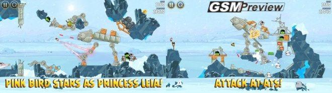 Ъпдейт на Angry Birds Star Wars носи нови 20 нива на планетата Hoth