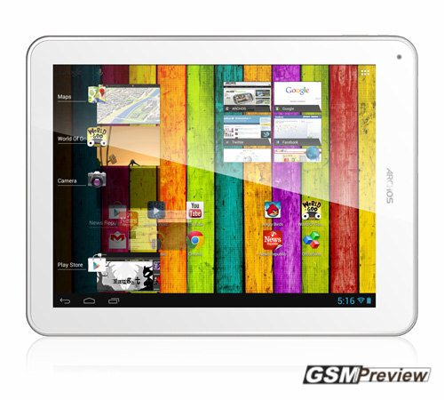 Archos представи своя Archos 97 Titanium Android HD таблет