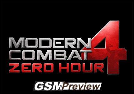 Modern Combat 4 – Zero Hour за iOS (+Видео трейлър)