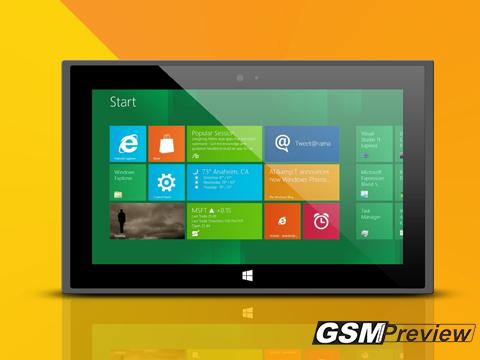 Microsoft с три нови таблета Surface през 2013 година.