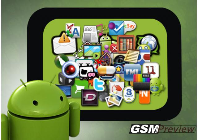 Най-добрите Android приложения за 2012