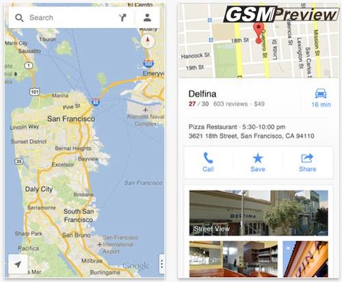 Google Maps за iOS удари 10 000 000+ сваляния за 2 дни