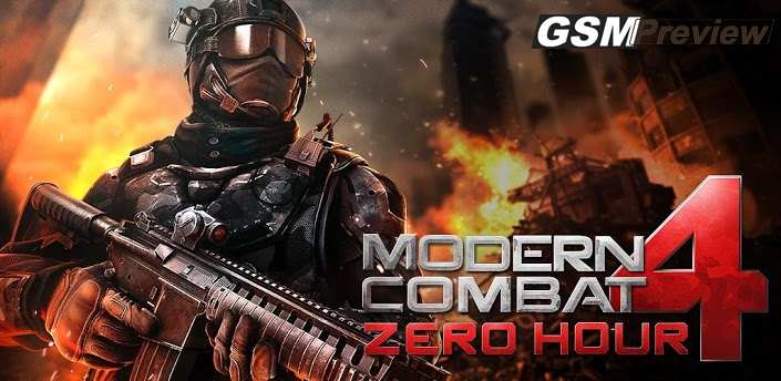 Modern Combat 4: Zero Hour вече е налична в Google Play