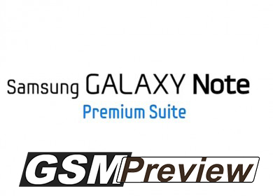 Samsung официално представи Premium Suite за Galaxy Note