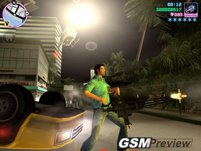 Официални снимки от играта GTA: Vice City за Android и iOS