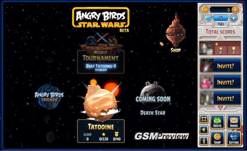 Angry Birds Star Wars вече и във Facebook