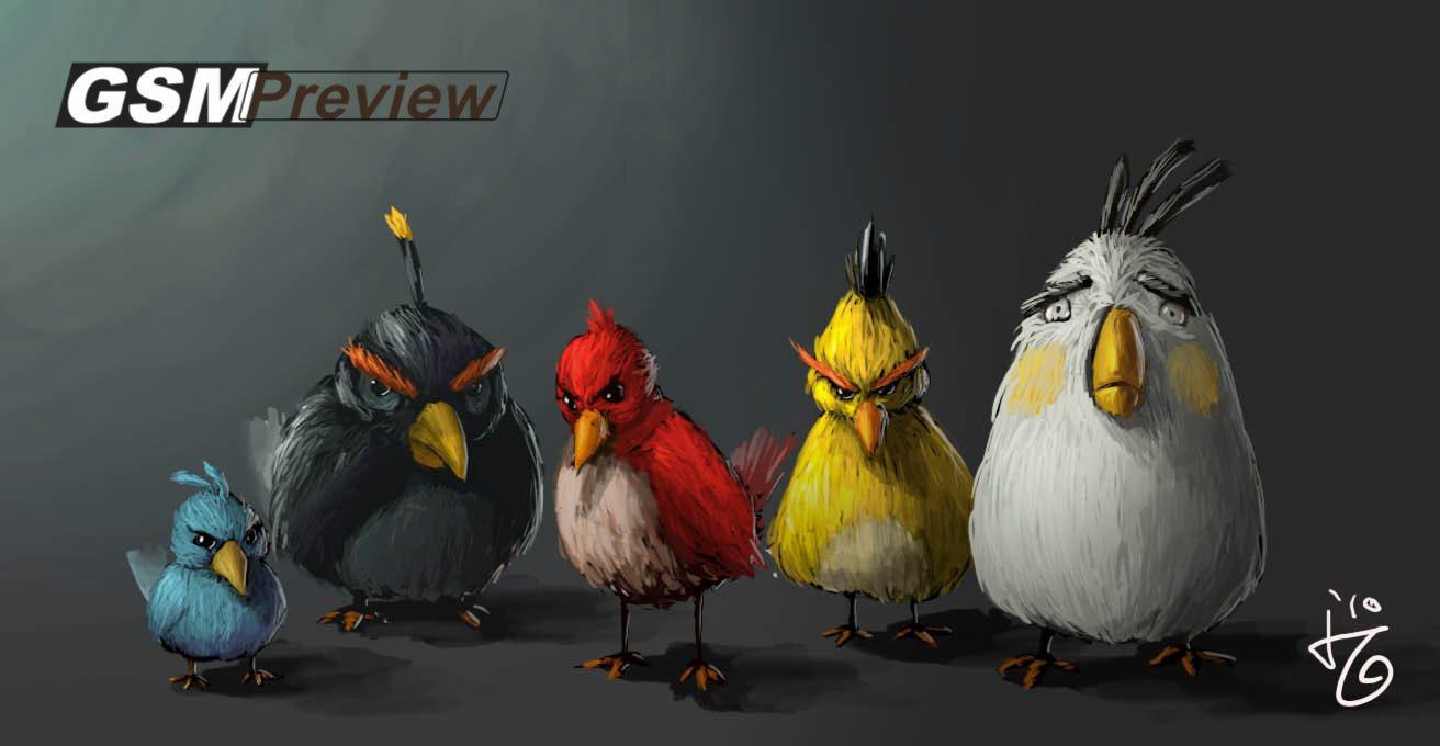 3D Филм Angry Birds излиза през 2016
