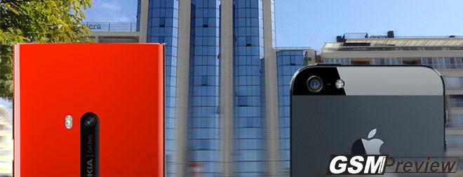 Стабилизация при видеоклип на Nokia Lumia 920 срещу тази на Apple iPhone 5