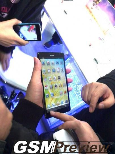6,1-инчовия Huawei Ascend Mate е показан преди CES