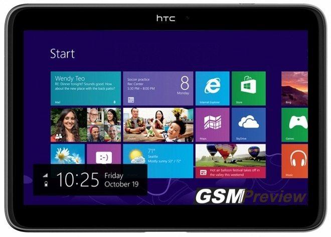 HTC работи по таблет с Windows RT