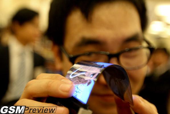 Samsung ще покаже гъвкави екрани на CES 2013