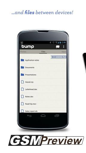 Приложението Bump получава актуализация с възможност за споделяне на всякакви файлове