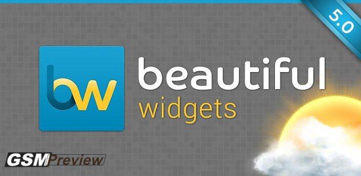 Beatiful widgets 5