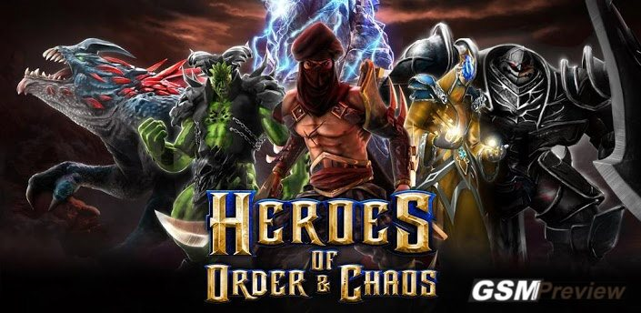 Heroes of Order & Chaos за Android