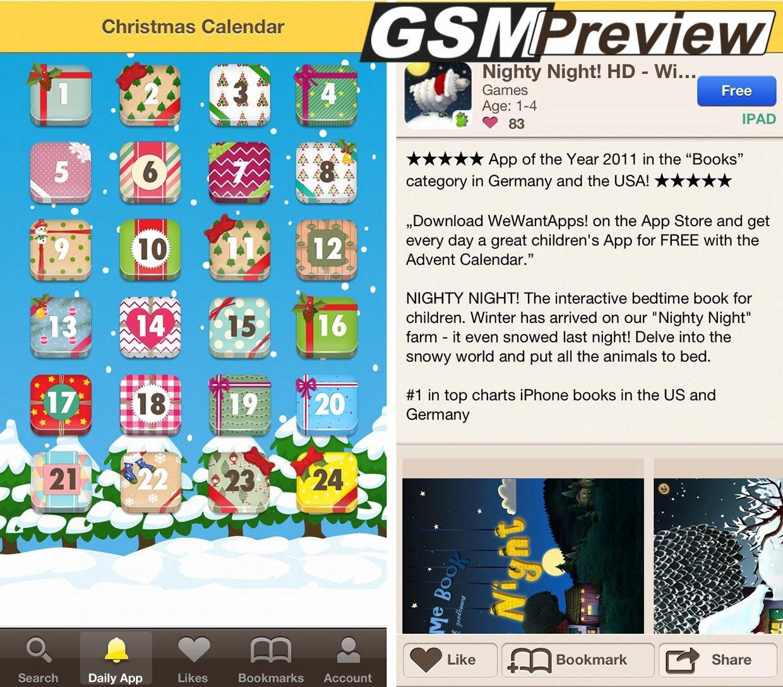 Изтеглете безплатно платени приложения и игри за деца до Коледа