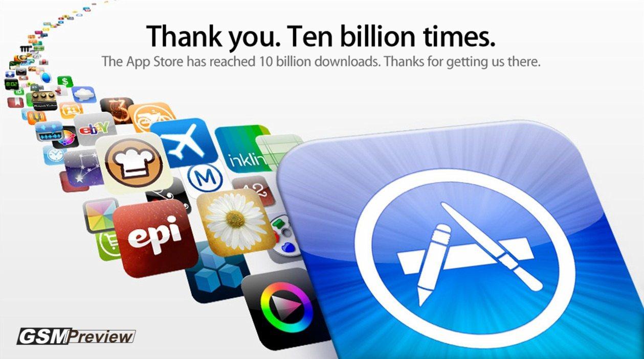 Магазинът на Apple за приложения достигна 775 000 приложения, 300 000 приложения за таблети и 40 милиарда сваляния
