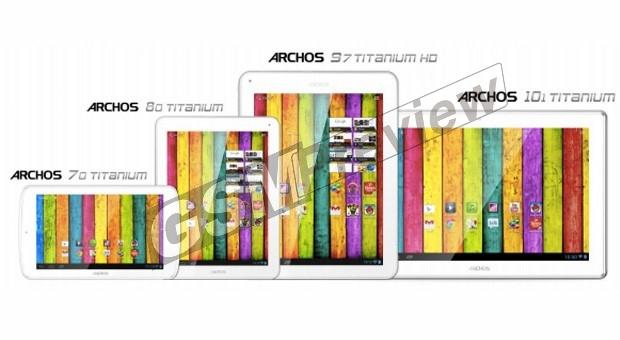 Archos представи новата Titanium линия от таблети на CES 2013