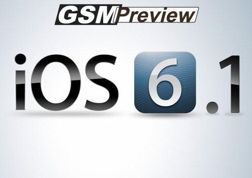 Apple пуска iOS 6.1 бета 5 за разработчици