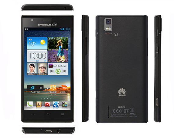 Huawei Stream X GL07S нов четириядрен смартфон с дисплей 4,7″ HD,Камера 13MP и Jelly Bean