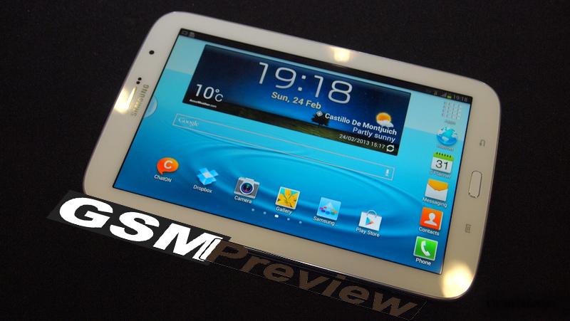 Samsung Galaxy Note 8.0 бе представен на MWC 2013