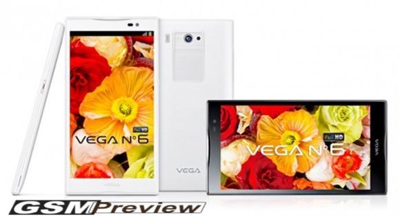 [Видео]Pantech Vega No.6: Дисплей 5,9″ Full HD,четириядрен процесор,камера 13MP и Android Jelly Bean