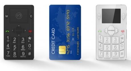 Micro-Phone – телефон с размерите на кредитна карта