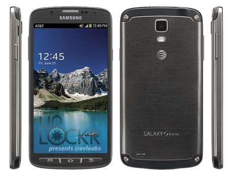 Първи официални снимки на защитения смартфон Samsung Galaxy S4 Active