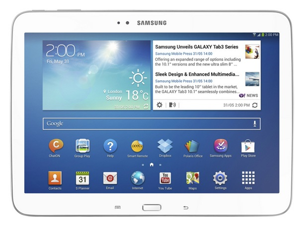 Samsung с два нови таблета Galaxy Tab 3